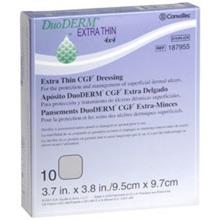 DuoDERM Extra Thin CGF Dressing, 4