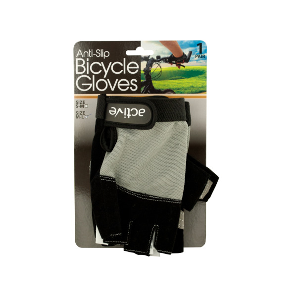 Anti-Slip Bicycle Gloves With Breathable Top Layer (Pack Of 2)