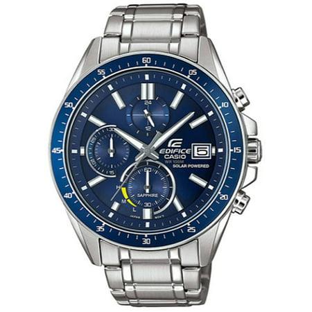 Men's Casio Edifice Solar Power Chronograph Watch EFSS510D-2AV EFS-S510D-2AVCR