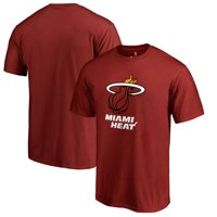 Miami Heat Fanatics Branded Primary Logo T-Shirt - Red
