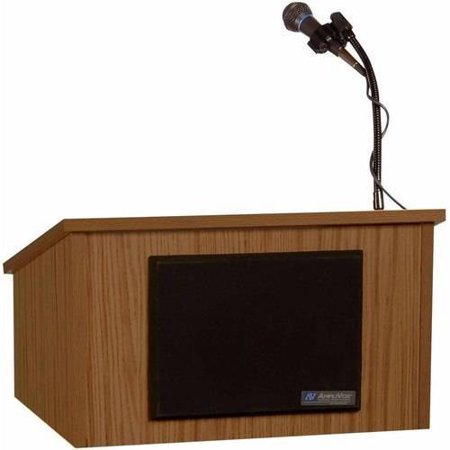 AmpliVox Tabletop Lectern with (Amplivox Tabletop Lectern)