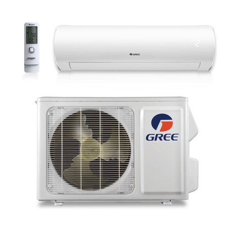 GREE SAP09HP230V1A - 9,000 BTU 38 SEER SAPPHIRE Wall Mount Ductless Mini Split Air Conditioner Heat Pump (The Best Ductless Air Conditioner)