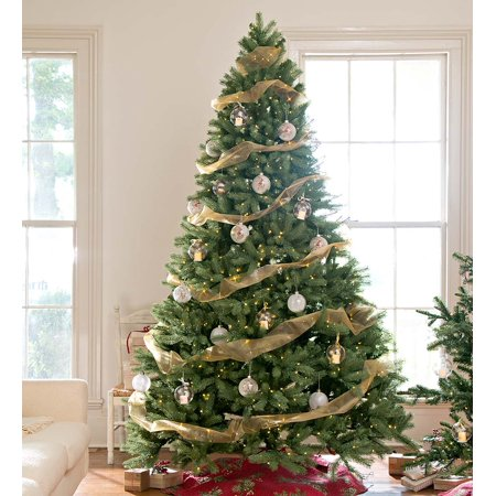 7 1 2 Balsam Fir Artificial Christmas Tree With Multi Setting Leds