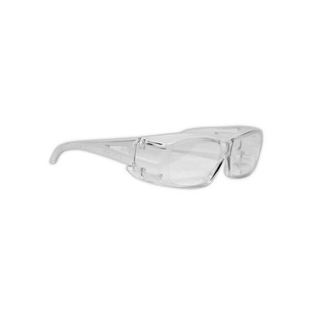 Magid Gemstone Diamond OTG Visitor Clear Safety Glasses, Pair