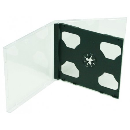 CheckOutStore 400 STANDARD Black Double CD Jewel