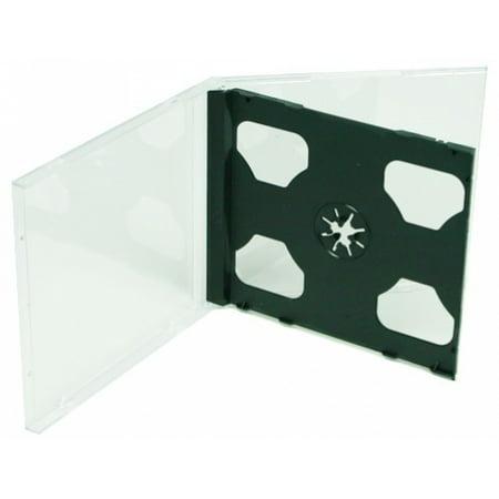 CheckOutStore 400 STANDARD Black Double CD Jewel Case