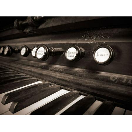 Organ II, Fine Art Photograph By: Jim Christensen; One 24x18in Fine Art Paper Giclee Print