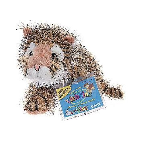Cp Lil' Kinz Tiger Webkinz Stuffed Plush Animal Comes With A Secret -