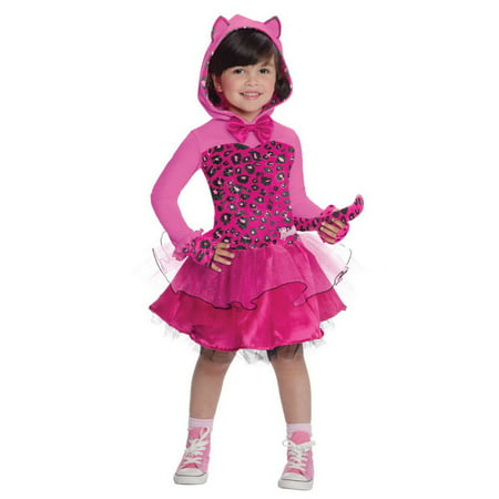 Halloween Barbie Pink Kitty Child Costume](Kitty Cat Halloween Costumes)