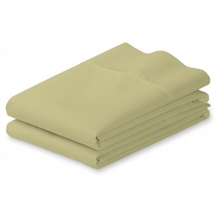 100% Cotton 400 Thread Count 2 PC Pillow Cases (King, Sage)