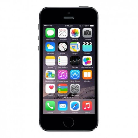 Refurbished iPhone 5s GSM Unlocked Space Gray 16GB - Walmart.com