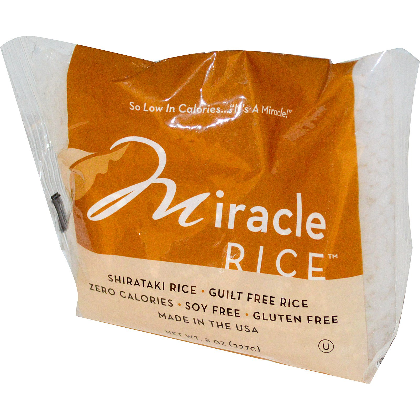 Miracle Noodle, Miracle Rice, 8 oz (pack of 12)