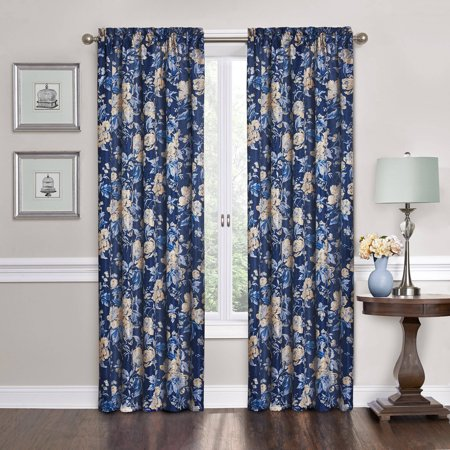 Traditions By Waverly Forever Yours Floral Window Panel