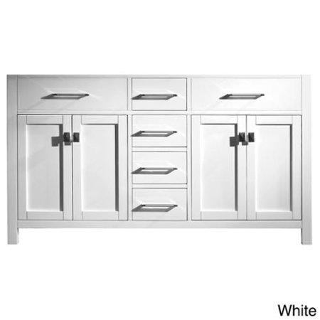Virtu Usa Caroline 48 Inch Single Sink Bathroom Vanity Cabinet