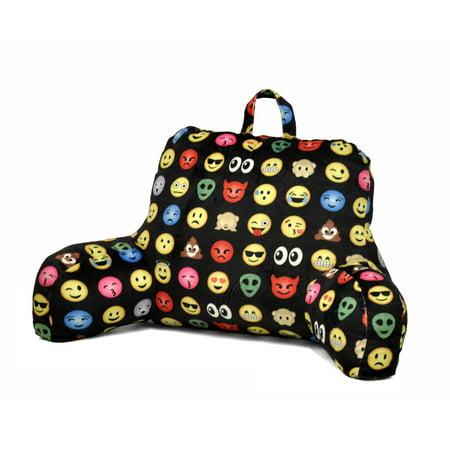 Emoji Pals All Over Backrest Pillow](Kid Pillows)