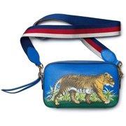 Gucci Soho Mini Chain Crossbody Camellia Leather Bag Handbag New
