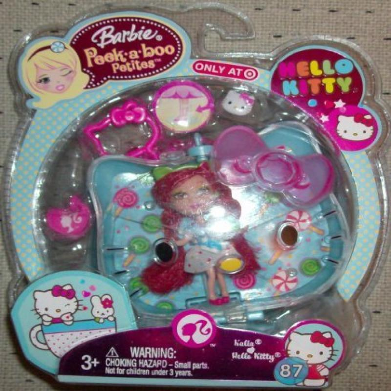 Barbie Peek-a-boo Petites Hello Kitty Kalia #87 by