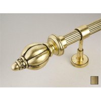 Palas 1076 Curtain Rod Set 125 In Antique Bronze 110 In