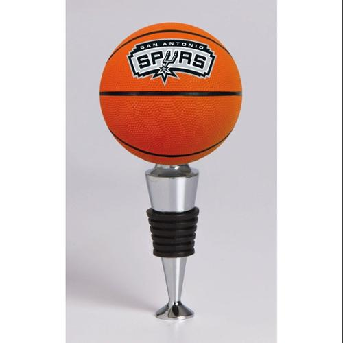 San Antonio Spurs Official NBA  Basketball Bottle Stopper by Evergreen