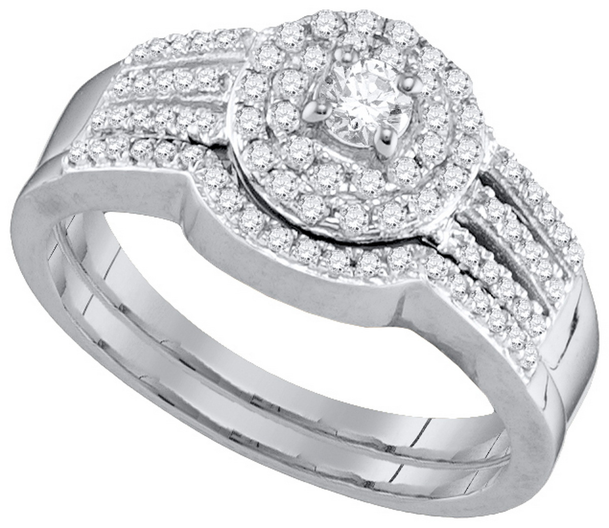 3 strand engagement ring Rings Compare Prices at Nextag