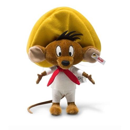 Steiff Looney Tunes Speedy Gonzales Limited Edition Mohair Teddy Bear EAN 354632 ()