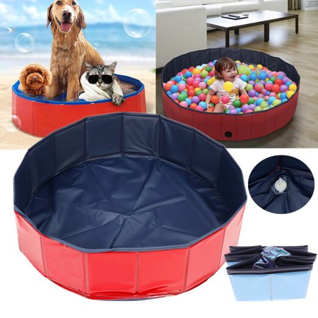 Collapsible Foldable Cat Puppy Pet Dog Bath Pool Bath Tub