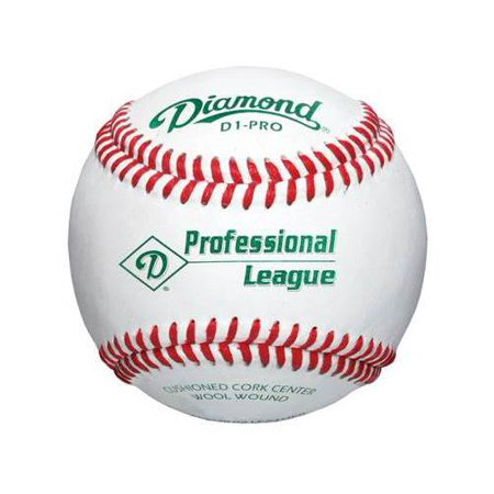 Diamond DOL-A Official League Baseballs, 12 Pack