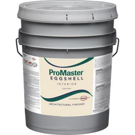 5 Gallon Glidden Promaster Latex Eggshell Wall Paint Calim Beige