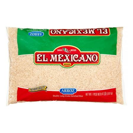 El Mexicano, Long Grain Rice, 4 lb