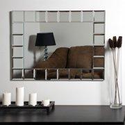 D Cor Wonderland Montreal Modern Frameless Bathroom Mirror 31 5w X 23 6h In