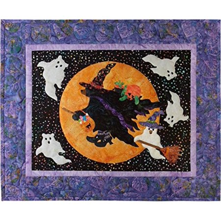 12 Months of Happy~Beary Be-Witching! Blk 10-OCT- Quilt Pattern by, Block 10- October - 12 Months of Happy-26 X 22 By McKenna Ryan (Mckenna Ryan Halloween)