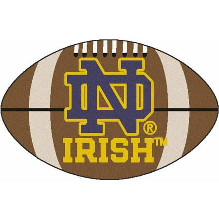 Notre Dame Baseball Rug - Notre Dame Football Mat