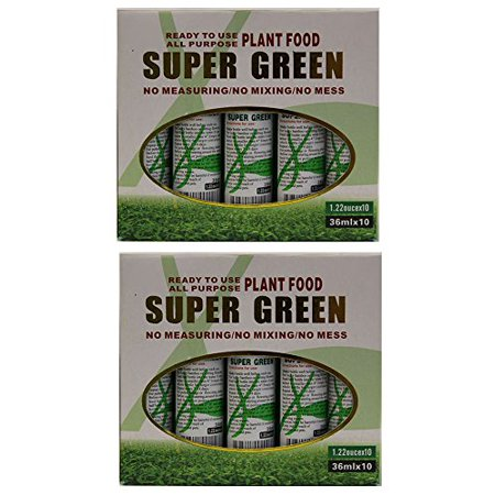 KL Design & Import - 20 Bottles of Super Green Green Lucky Bamboo Fertilizer Plant Food