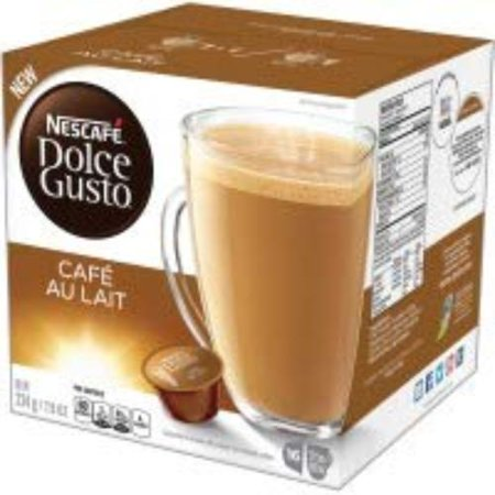 Nescafe Dolce Gusto Cafe Au Lait Coffee Capsules Capsule (Dolce Gusto Piccolo Best Price)