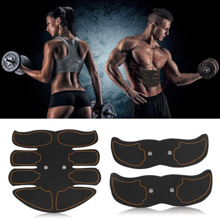 Yosoo Body Building Patch, Fat Burning Patch,Battery Type Fat Burning Muscle Strengthening EMS Intelligent Abdomen Training Patch - image 8 of 8
