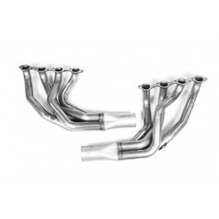 Kooks 79-93 Ford Mustang w/ Big Block Chevy 2-1/4in x 4in Stainless Steel Long Tube Headers
