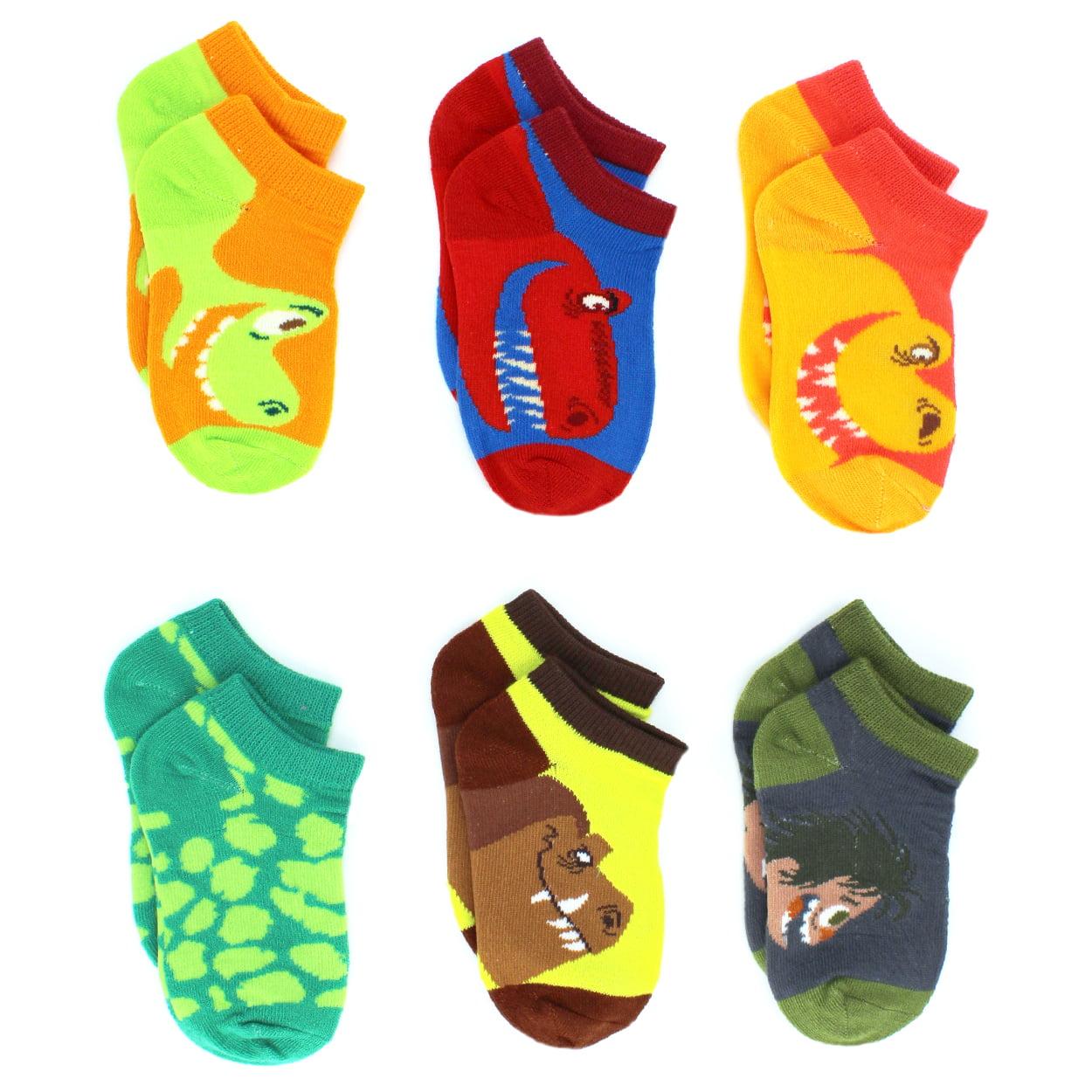 The Good Dinosaur Little Toddler Boys 6 pack Socks 1178FH