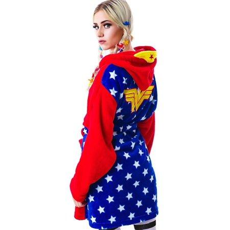 Wonder Woman Hooded Robe - image 1 of 2
