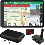 "Garmin dezl OTR1000 10"" GPS Truck Navigator (010-02315-00) with Accessory Bundle"