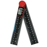 GeweYeeli Digital Display Angle Ruler Electronic Goniometer Protractor Angle Finder Meter Measuring Tool