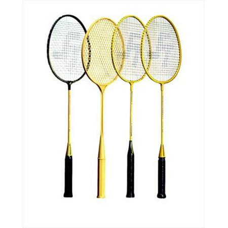 Sportime 007858 Yeller Steel-Strung Badminton
