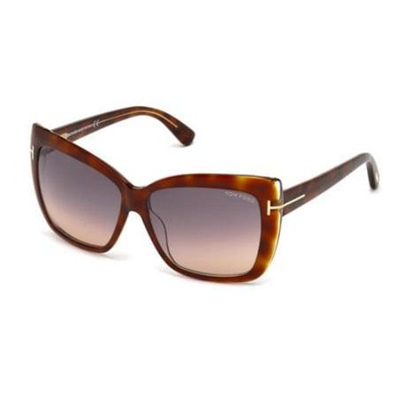 Sunglasses FT0390 53F Blonde Havana 59MM