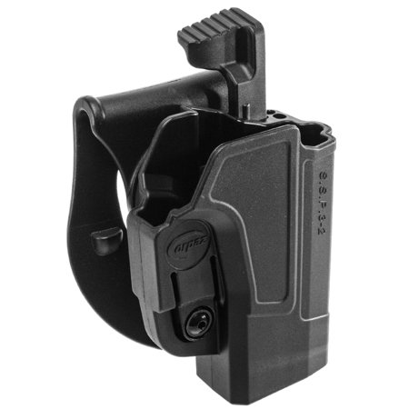 Orpaz Smith & Wesson M&P 9mm Holster Fits S&W M&P 40 and 9mm, Level 2 Paddle (Smith And Wesson M&p 40 Spring Airsoft)