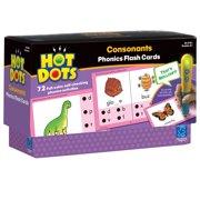 Hot Dots Phonics Flash Cards, Consonants
