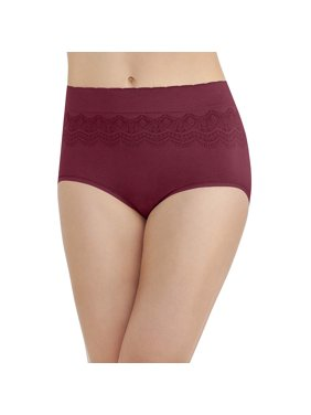 3b67cf142a1f Product Image Vanity Fair Womens No Pinch-No Show Seamless Brief Panty, 9,  Speakeasy