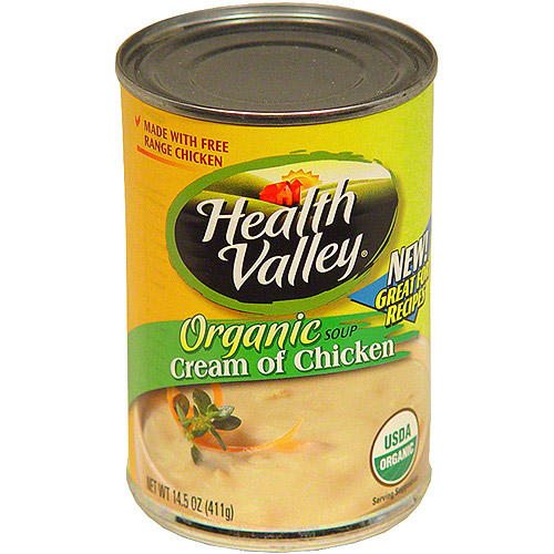 Health Valley Cream Of Chicken Soup, 14.5 oz (Pack of 12)