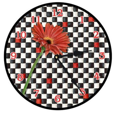 Lexington Studios Gerber Checker Wall Clock