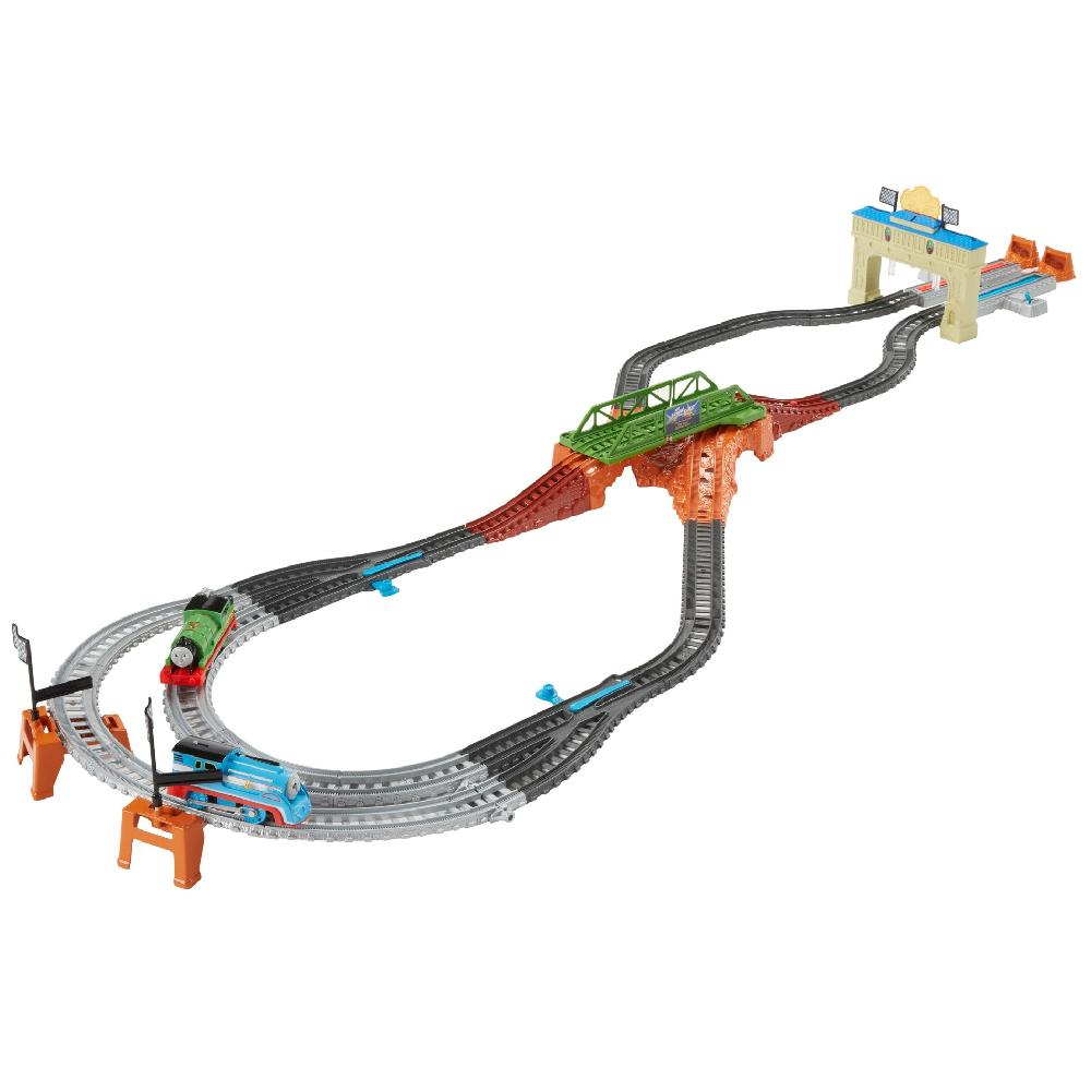 Fisher Price Thomas & Friends Trackmaster Thomas & Percy'S Railway Race Set by Fisher-Price