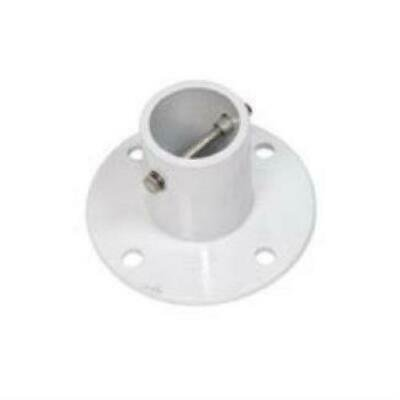 S.R. Smith 75-209-5000 Pool Smith Aluminum Deck Anchor Flange, (Deck Anchor Flange)