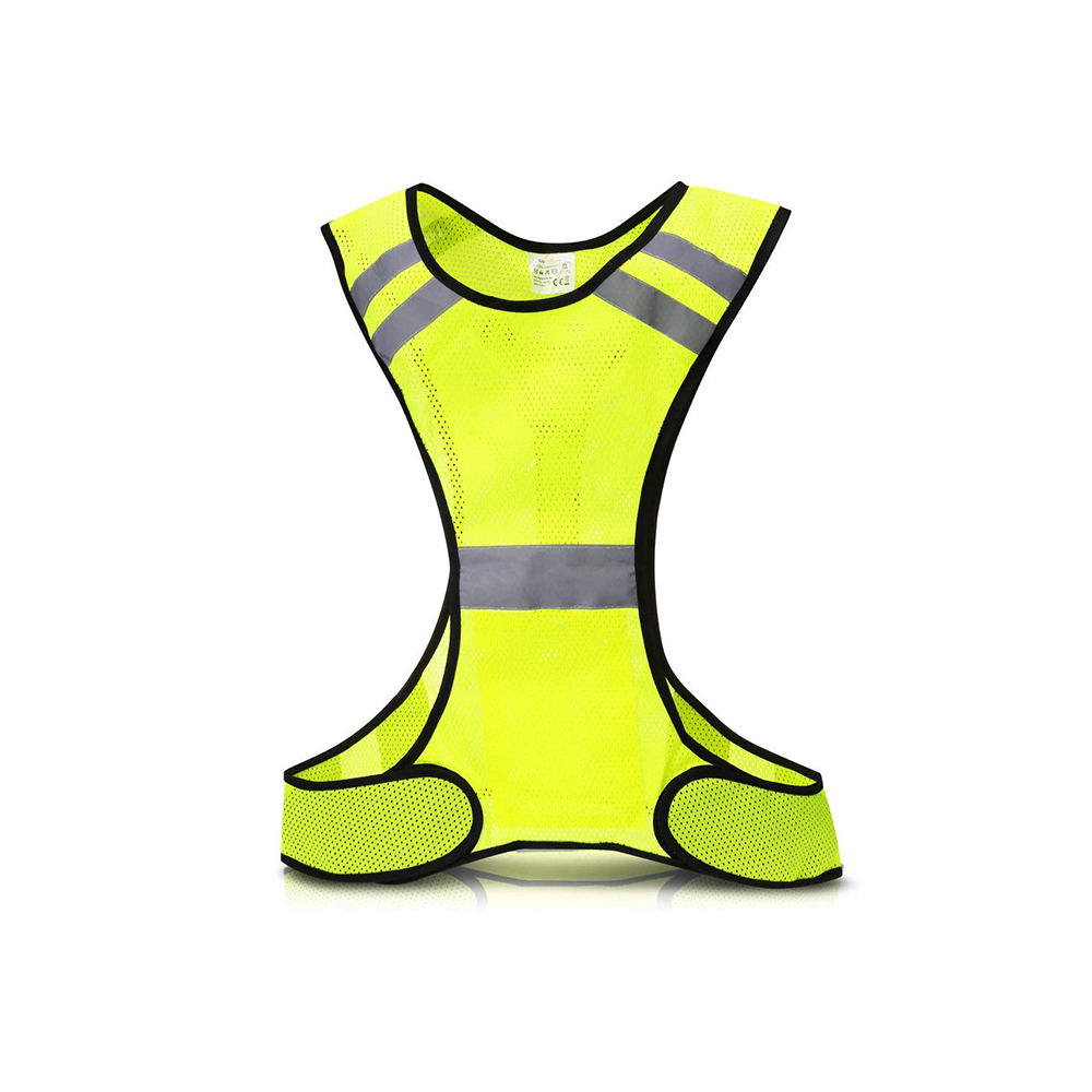 LED reflective cycling vest high visibility outdoor running cycling safety